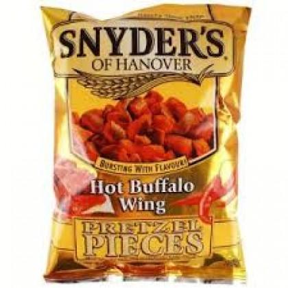 Snyders Hot Buffalo Wings Pretzel Pieces