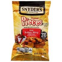 snyders hot buffalo wing pretzel..