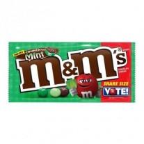 M&M CRUNCHY MINT SHARE SIZE