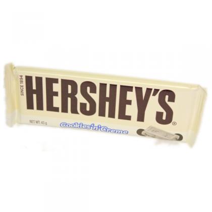 Hershey milk chocolate cookies and cream