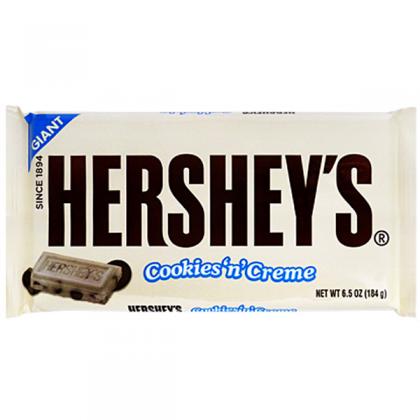 Hersheys Giant Cookies n Creme Chocolate Bar