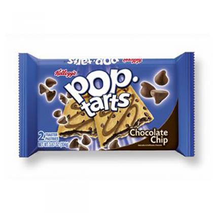 Pop Tarts Twin Pack Choc Chip