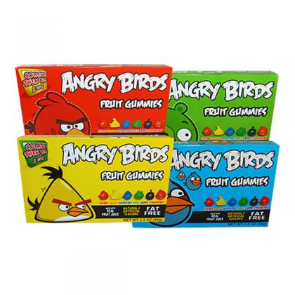 Angry Birds Theatre Box Fruit Gummies