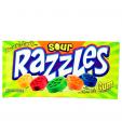 Sour Razzles Candy Gum
