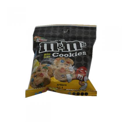 M&M Cookie Bag Bites