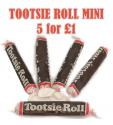 Tootsie Roll Minis X 5
