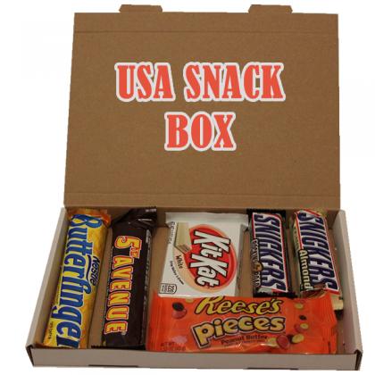 USA Chocolate Snack Box